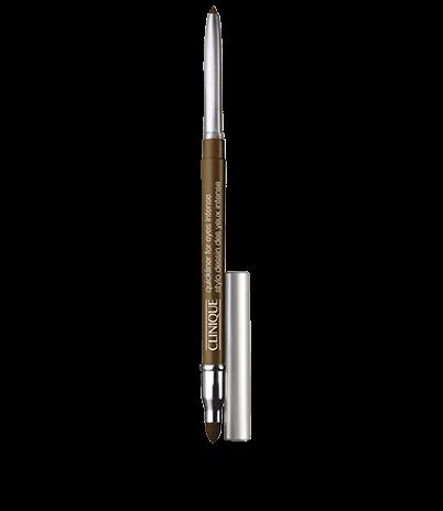 Автоматический карандаш для глаз с растушевкой Quickliner For Eyes Intense - Intense Chocolate (Clinique)