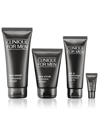 Мужской набор Clinique For Men Essentials Set Oily