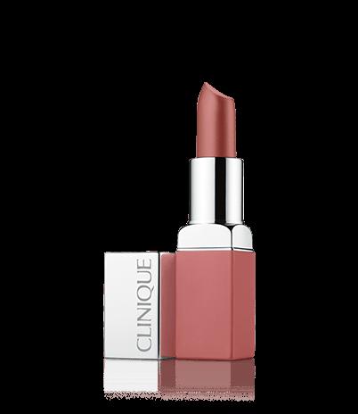 Матовая помада для губ: интенсивный цвет и уход Clinique Pop Matte Lip Colour + Primer - 11: Peppermint Pop